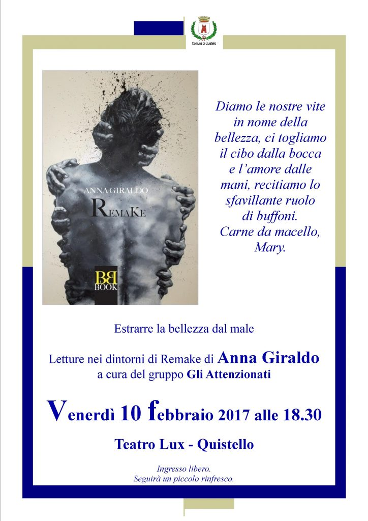 Locandina evento 10 febbraio - Teatro Lux, Quistello